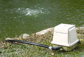 Small Pond Aerator
